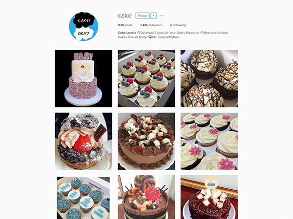 Cake Instagram