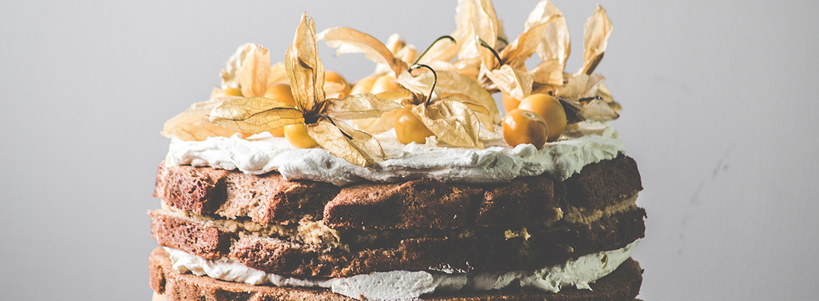 Cakes at The Factory Kitchen